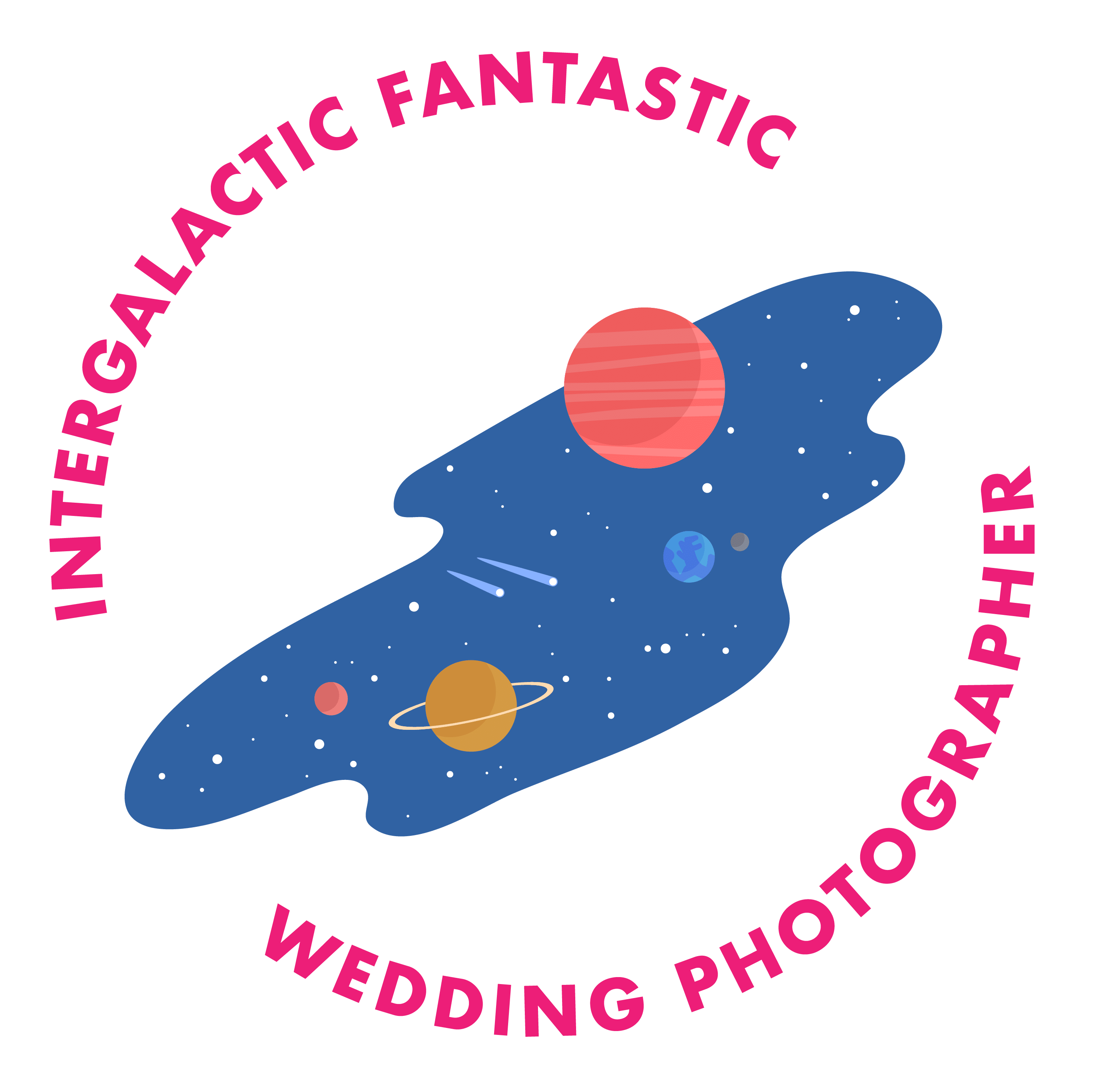 intergalactic destination wedding photographer