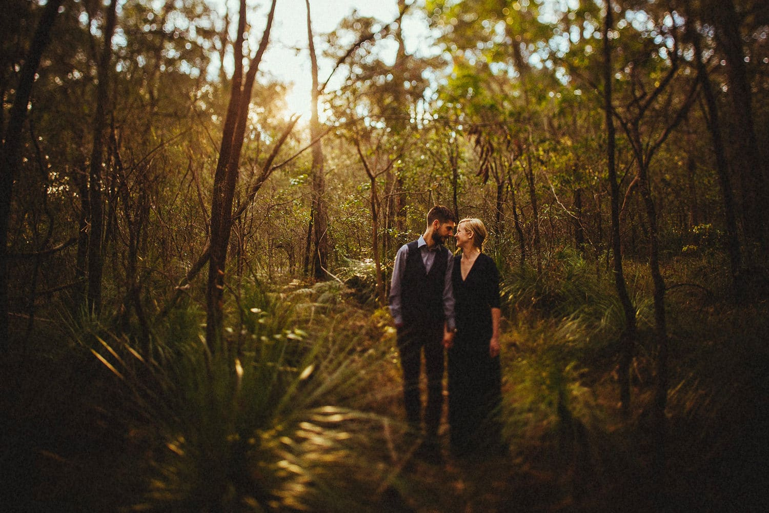 australia engagement session