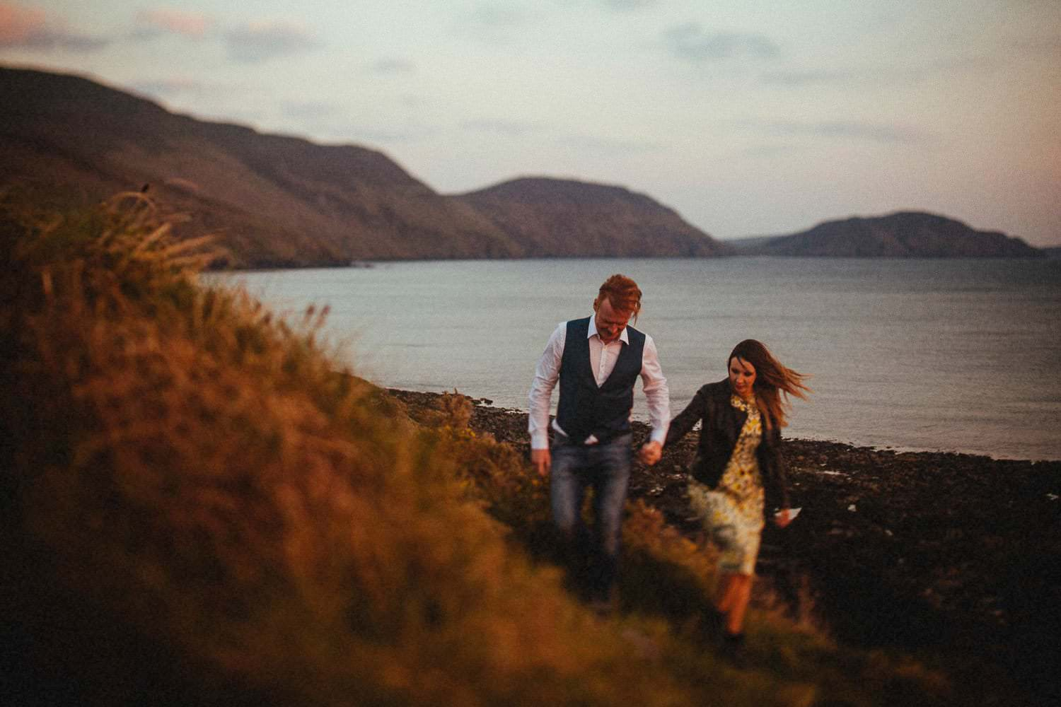 isle of man engagement session
