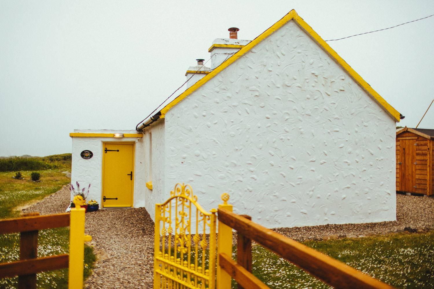 yellow cottage ireland