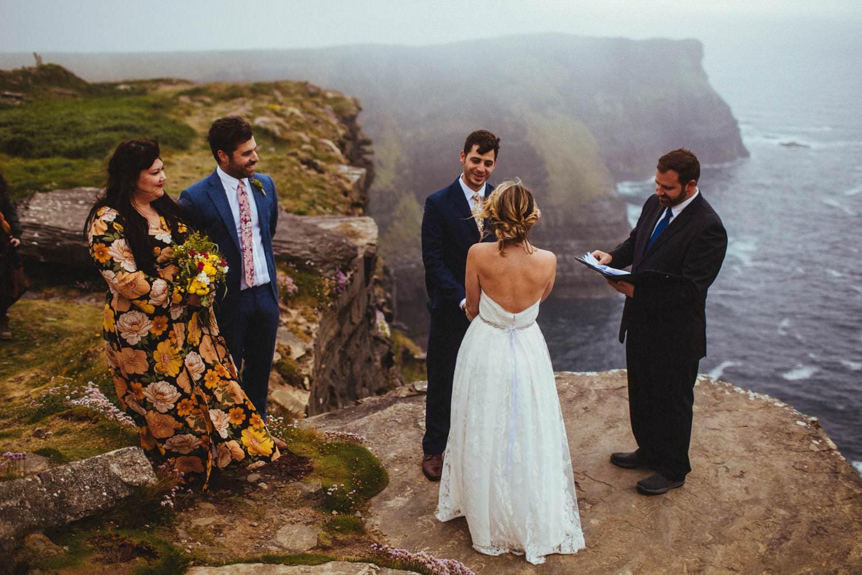 cliffs of moher wedding photographer