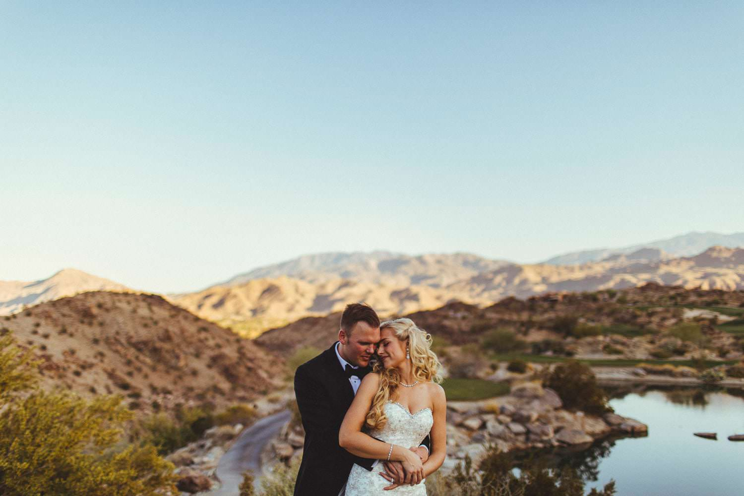 palm desert wedding stone eagle