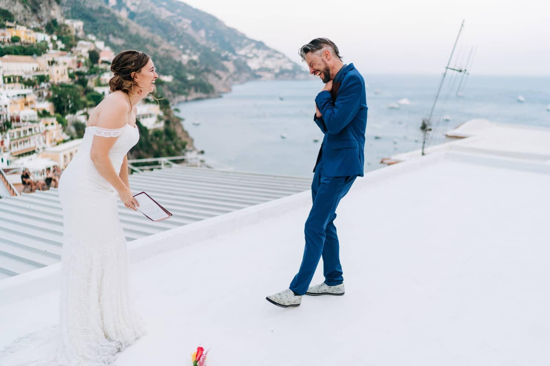 rooftop elopement amalfi