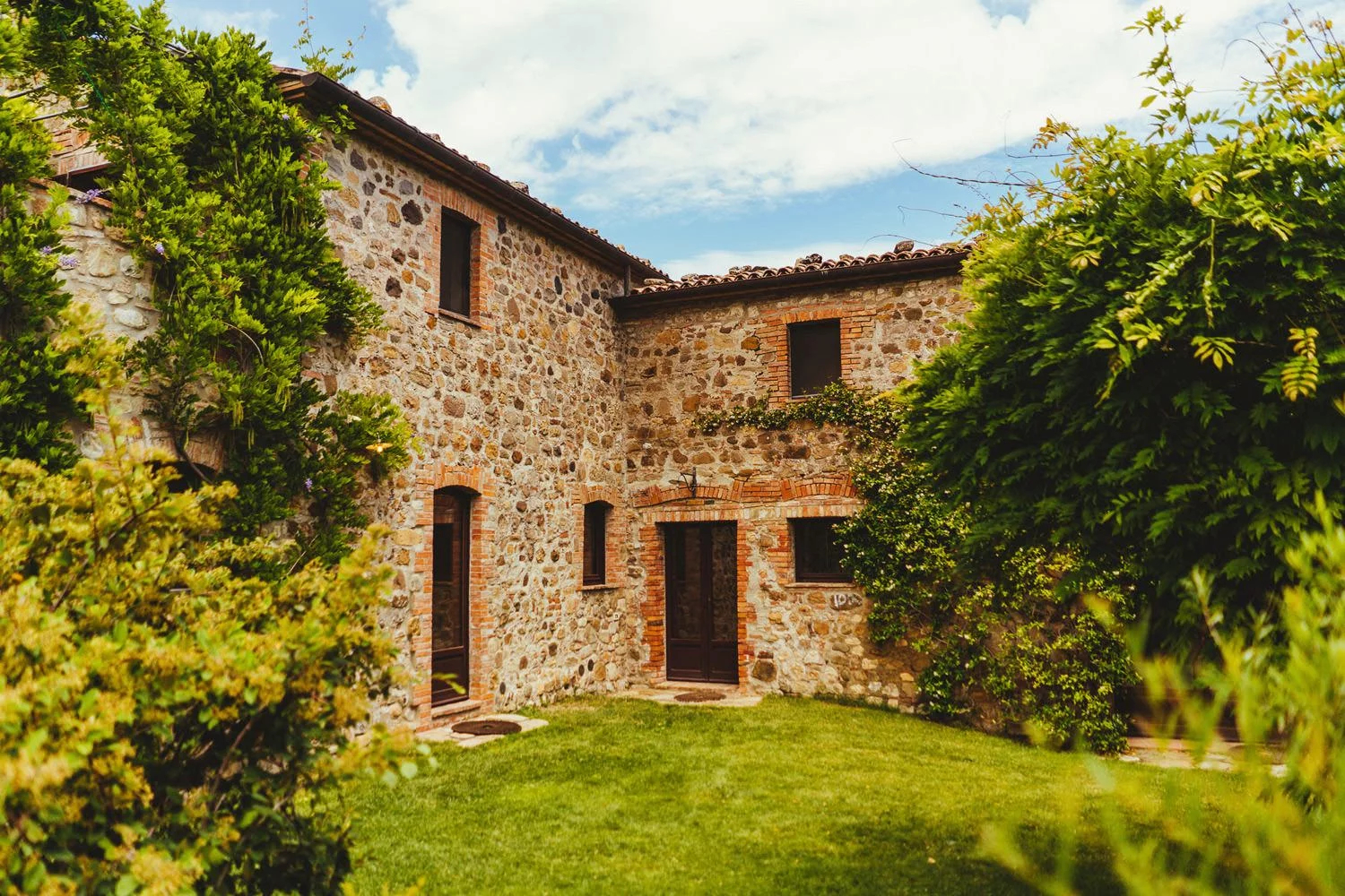 Borgo Di Castelvecchio in Tuscany, Italy, a popular wedding venue in Europe.