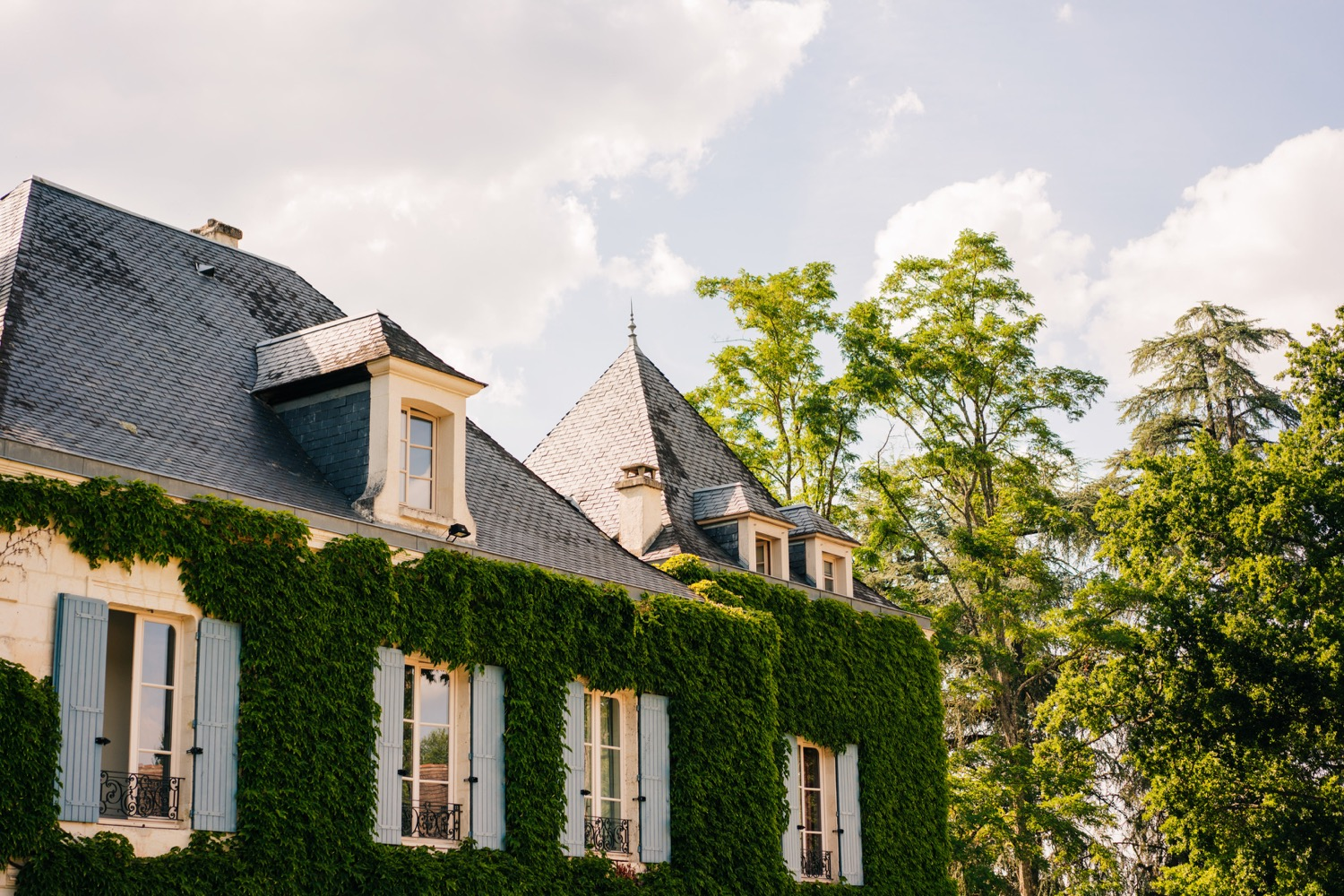 Domaine La Fauconnie mansion in France, one of the most popular wedding venues in Europe.